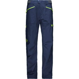 Norrøna M's Falketind Flex1 Pants Indigo Night/Birch Green